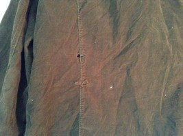 French Cuff Size XL 100 Percent Cotton Green Jacket with Studs image 7