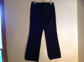 GAP Black Khaki Pants One Back Pocket Zipper Button Closure Size 2 image 8