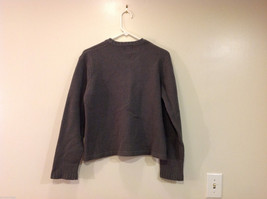 GAP Gray V-neck Sweater, NO Size Tag (see measurements below) image 2