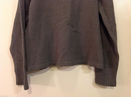 GAP Gray V-neck Sweater, NO Size Tag (see measurements below) image 7