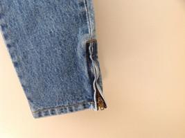 GAP Medium Blue Denim Jeans 5 Pockets Button and Zipper Closure Size 10 Regular image 4