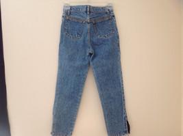 GAP Medium Blue Denim Jeans 5 Pockets Button and Zipper Closure Size 10 Regular image 7