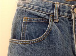GAP Medium Blue Denim Jeans 5 Pockets Button and Zipper Closure Size 10 Regular image 5