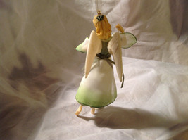 Hallmark The Gift of Love Green Holiday Angel Ornament Ribbon for Hanging image 2