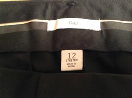 GAP Size 12 Stretch Black Skirt Excellent Condition Side Pockets One Back Pocket image 5