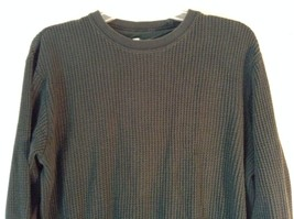 GAP Size Large Long Sleeve Athletic Fit Green 100 Percent Cotton Shirt image 2