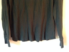 GAP Size Large Long Sleeve Athletic Fit Green 100 Percent Cotton Shirt image 3