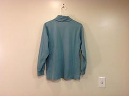 GAP Soft Turquoise (Blue/Green) 100% cotton Turtleneck Sweater, Size M image 2