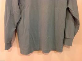 GAP Soft Turquoise (Blue/Green) 100% cotton Turtleneck Sweater, Size M image 6