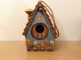 Garden Guardian Birdhouse Department 56 Choice of Green or Brown Roof image 2