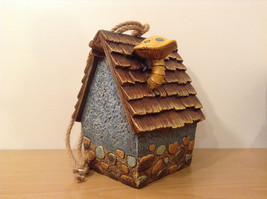 Garden Guardian Birdhouse Department 56 Choice of Green or Brown Roof image 6