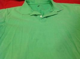 Gap Green/Lime Classic Fit Mens Short Sleeve Polo Shirt Size Medium image 4