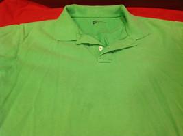 Gap Green/Lime Classic Fit Mens Short Sleeve Polo Shirt Size Medium image 6