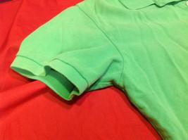 Gap Green/Lime Classic Fit Mens Short Sleeve Polo Shirt Size Medium image 7