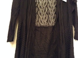 Gatsby Cardigan lacy filigree duster stretch fabric color choice small medium image 5