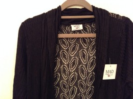 Gatsby Cardigan lacy filigree duster stretch fabric color choice small medium image 4