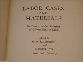 Hardcover Book- Labor Cases and Materials image 8