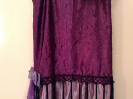 Handmade Dark Light Violet Sleeveless Evening Dress 20s Style Size Small Flapper image 4