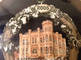 Handpainted Christmas Ornament Hamilton Country Courthouse 2005 Original Package image 7