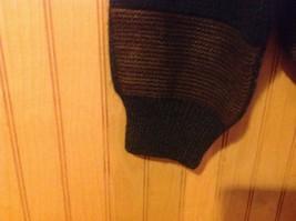 Gianfranco Ruffini Italy Dark Sweater Size Medium Checkered Pattern Multicolor image 6