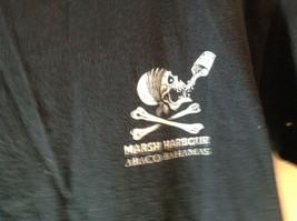 Gildan Ultra Cotton Black Graphic Short Sleeve T-Shirt Size Small Rum Skull image 3