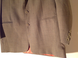 Gianfranco Ruffini Collection Old Fashion Green Black Design Suit Jacket Size 42 image 4