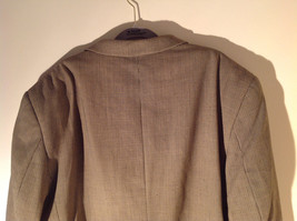 Gianfranco Ruffini Collection Old Fashion Green Black Design Suit Jacket Size 42 image 6