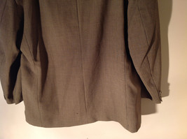 Gianfranco Ruffini Collection Old Fashion Green Black Design Suit Jacket Size 42 image 7