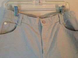 Gitano Light Khakis 100 Percent Cotton Shorts Front and Back Pockets Size 16 image 2