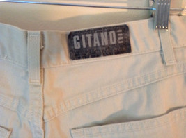 Gitano Light Khakis 100 Percent Cotton Shorts Front and Back Pockets Size 16 image 4