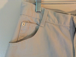 Gitano Light Khakis 100 Percent Cotton Shorts Front and Back Pockets Size 16 image 3