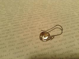 Handmade Sterling Silver Pendant Flat Earrings image 6