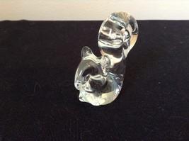 Glass Squirrel or Cat Cute Statue image 2