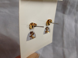 Gold Tone Drop Star Shaped Crystal Stud Earrings Stones Above Drop Part as well image 7