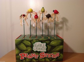 Home Grown Plant Pot Stick Pear  Bird  Play w your Food Sculpted image 3