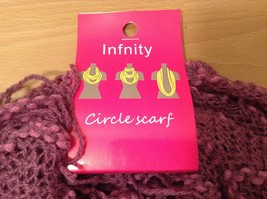 Honeycomb soft Fashion Infinity Scarf in choice of colors Perfect coat accent image 3