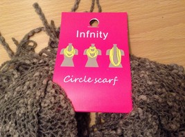Honeycomb soft Fashion Infinity Scarf in choice of colors Perfect coat accent image 11