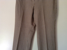 Gold White Black Plaid Pants by Talbots Petite Size 10 image 3
