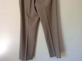 Gold White Black Plaid Pants by Talbots Petite Size 10 image 9