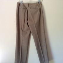 Gold White Black Plaid Pants by Talbots Petite Size 10 image 10