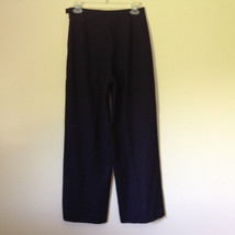 Good Looking Ann Taylor Petites Black 100 Percent Wool Dress Pants Size 6P image 4