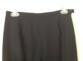 Good Looking Ann Taylor Petites Black 100 Percent Wool Dress Pants Size 6P image 2
