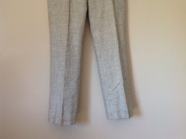 Gorgeous Dress Pants by Anne Klein Petite Light Colors Imported Fabric Size 4 image 3