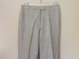 Gorgeous Dress Pants by Anne Klein Petite Light Colors Imported Fabric Size 4 image 2