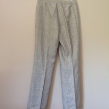 Gorgeous Dress Pants by Anne Klein Petite Light Colors Imported Fabric Size 4 image 5