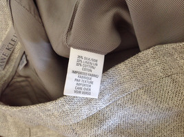 Gorgeous Dress Pants by Anne Klein Petite Light Colors Imported Fabric Size 4 image 7