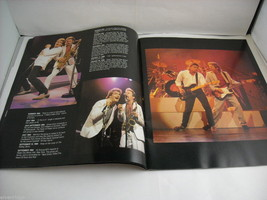 Huey Lewis and the News World Tour Concert Booklet Program 1986 image 4