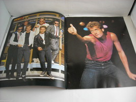 Huey Lewis and the News World Tour Concert Booklet Program 1986 image 3