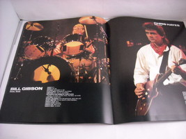 Huey Lewis and the News World Tour Concert Booklet Program 1986 image 7