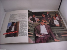 Huey Lewis and the News Small World Tour 10th Anniversary Concert Program 1988 image 3